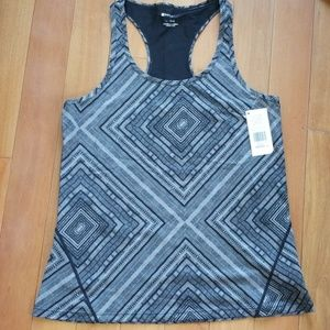 Fabletics Leon black and gray tank Size L